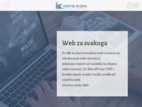 Slika naslovnice sjedišta: Info-kon – Web po mjeri svakoga (http://www.info-kon.hr)