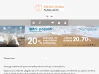 Frontpage screenshot for site: Medicinska naklada webshop (http://www.medicinskanaklada.hr)