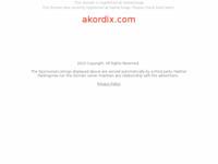Frontpage screenshot for site: Akordi za gitaru poznatih EX YU izvođača - AKORDIX.com (http://akordix.com)