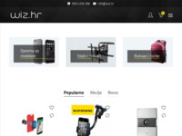 Frontpage screenshot for site: Wiz.hr - online trgovina (http://www.wiz.hr)