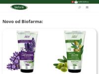 Frontpage screenshot for site: Biofarm - Ljepota, priroda, kozmetika i zdravlje (http://www.biofarm.hr)
