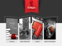 Frontpage screenshot for site: Lingua centar d.o.o. (http://www.lingua-centar.hr/)