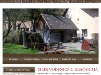 Frontpage screenshot for site: Gračanski melin (http://www.gracanski-melin.hr)