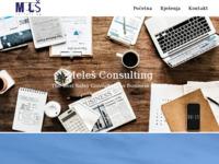 Slika naslovnice sjedišta: Meleš, obrt za usluge poslovnog, prodajnog i informatičkog savjetovanja (http://www.melesconsulting.hr)