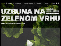 Frontpage screenshot for site: Uzbuna na Zelenom Vrhu - Kinorama (http://uzbunanazelenomvrhu.hr)