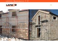 Slika naslovnice sjedišta: Lapidem kameni radovi - Vrhunska kvaliteta mora biti standard! (http://lapidem.hr)