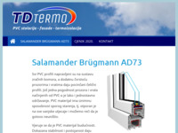 Frontpage screenshot for site: TD-Termo (http://tdtermo.hr)