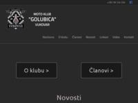 Slika naslovnice sjedišta: Moto klub Golubica Vukovar (http://mk-golubica.hr)