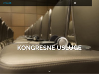 Frontpage screenshot for site: Dynacon d.o.o. kongresne usluge (http://dynacon.hr)