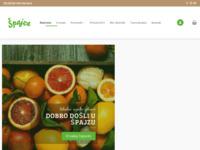 Slika naslovnice sjedišta: Špajza - trgovina 100% domaćim hrvatskim proizvodima (http://www.spajza.hr/)