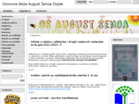 Slika naslovnice sjedišta: Osnovna škola August Šenoa Osijek (http://os-asenoa-os.skole.hr/)