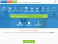 Frontpage screenshot for site: Turističke informacije za putovanje i odmor,  slike, videa, komentari i ocjene (http://www.holiday-link.com)