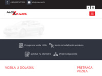 Slika naslovnice sjedišta: Max Cars d.o.o. - Prodaja i uvoz automobila (http://www.maxcars.hr/)