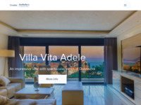 Frontpage screenshot for site: Croatia Sotheby's International Realty (http://www.sothebysrealty.hr)
