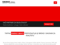 Slika naslovnice sjedišta: Energy bentz d.o.o. Gospić (http://www.energy-bentz.hr)