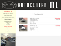 Slika naslovnice sjedišta: Autocentar ML (http://www.ml-saric.hr)