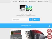 Slika naslovnice sjedišta: Franc music shop (http://franc-music-shop.com/)