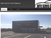 Slika naslovnice sjedišta: Autoservis Ćurić - Đakovo (http://www.autoservis-curic.hr)