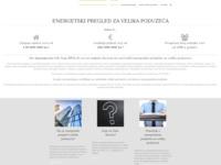 Frontpage screenshot for site: Energetski pregled velikih poduzeća: ponude, info, cijene (http://energetskipregledvelikihpoduzeca.eu/)