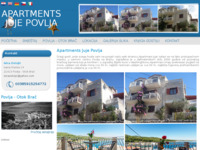 Frontpage screenshot for site: Apartments Juje Povlja - Povlja - Otok Brač (http://www.apartments-povlja-ostojic.hr)