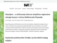 Slika naslovnice sjedišta: Udruga RUKA – regionalna udruga ovčara i kozara (http://www.udrugaruka.hr)