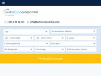 Frontpage screenshot for site: Last Minute Centar Putovanja (http://www.LastMinuteCentar.hr)