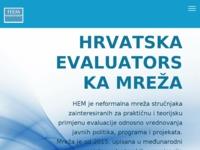 Slika naslovnice sjedišta: Evaluacija (http://www.evaluacija.hr)