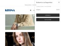 Slika naslovnice sjedišta: Krona - Ručni satovi i nakit priznatih trgovačkih marki (http://www.krona.hr)