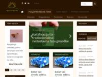 Slika naslovnice sjedišta: Poljoprivredni portal agronomija.info (http://www.agronomija.info)