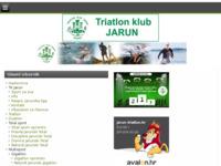 Slika naslovnice sjedišta: Triatlon klub Jarun, Zagreb (http://www.jarun-triatlon.hr)