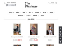 Frontpage screenshot for site: Wearhouse.hr (http://www.wearhouse.hr)