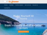 Slika naslovnice sjedišta: Crosummer - online booking katalog apartmana (http://www.crosummer.net)