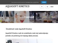 Slika naslovnice sjedišta: Moj filter - Kinetico – najkvalitetnija voda za sve! (http://mojfilter.com.hr)