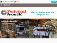 Frontpage screenshot for site: Smještaj Ivančić Istra - Smještaj Buzet (http://www.smjestaj-ivancic.com)