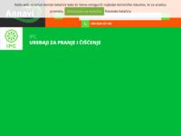 Frontpage screenshot for site: Annavi uređaji za pranje i čišćenje (http://annavi.hr/)