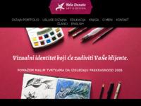 Slika naslovnice sjedišta: Nela Dunato Art & Design (http://neladunato.com.hr)
