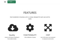 Frontpage screenshot for site: Prenamjena brodskih kontejnera (http://www.gradcontainer.com)