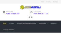 Slika naslovnice sjedišta: Intermetali d.o.o. - Trgovina metalnim proizvodima (http://www.intermetali.hr/)