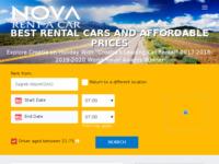 Slika naslovnice sjedišta: Nova Rent a Car (http://www.novarentacar.hr)