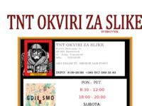 Slika naslovnice sjedišta: TNT okviri za slike dubrovnik (http://www.tnt-okviri-za-slike.hr)