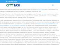 Slika naslovnice sjedišta: City taxi Sisak (http://city-taxi-sisak.hr)
