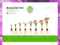 Slika naslovnice sjedišta: Botanički Vrh - Prodaja sadnica, poljodjelske usluge (http://botanickivrh.hr/)