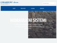 Frontpage screenshot for site: Charvat - Visokotlačna crijeva (http://charvat.hr/)