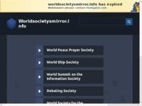 Slika naslovnice sjedišta: WorldSocietysMirror (http://www.worldsocietysmirror.info)