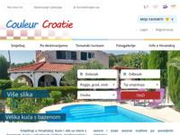 Frontpage screenshot for site: Couleur Croatie (http://www.croatie-location.fr/hr)