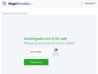 Frontpage screenshot for site: Booking sala za vjenčanja (http://www.bookingsala.com/)