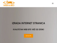 Slika naslovnice sjedišta: Izrada Internetskih stranica i turistička agencija - WEB&BED (http://www.webandbed.net)