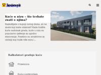 Frontpage screenshot for site: Kalkulator cijena za gradnju kuće, adaptacija stana i uređenje okućnice (http://www.troskovnik.net)