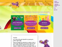 Frontpage screenshot for site: Mađioničar Za Djecu Čarobnjak Timi - Dječji Rođendani i Događanja (http://www.carobnjaktimi.hr/)