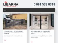 Slika naslovnice sjedišta: Libarna - Automatsko otvaranje vrata (http://www.libarna.hr)